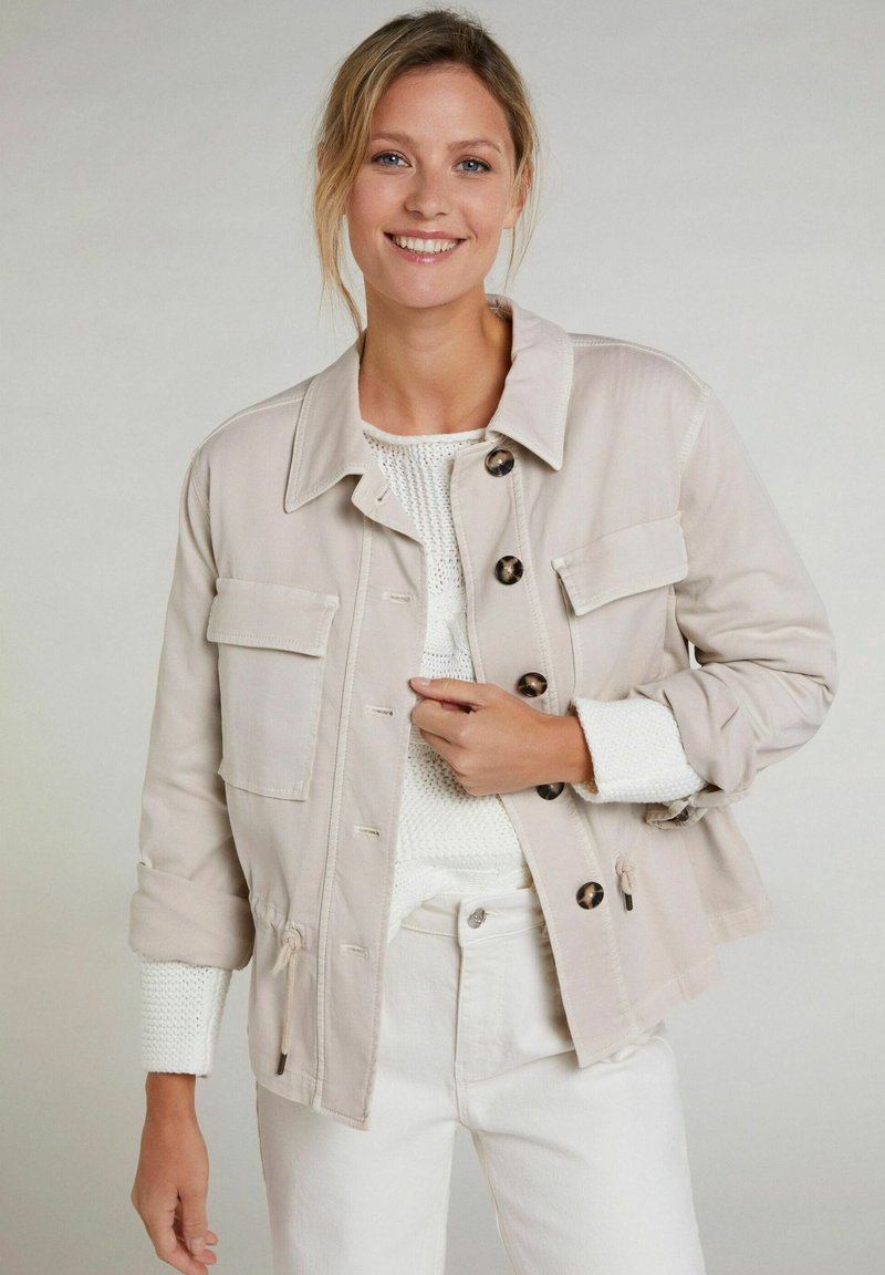 Oui - Summer jacket - light stone