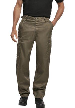 Pantaloni cargo - olive