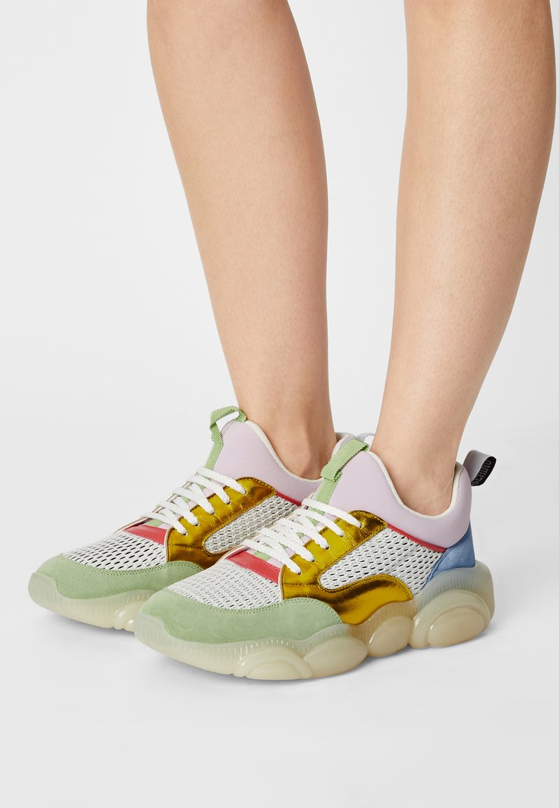 MOSCHINO - Trainers - fantasy color