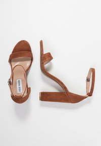 Steve Madden - CARRSON - High heeled sandals - chestnut - 3