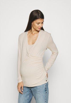 NURSING - Long sleeved top - off white