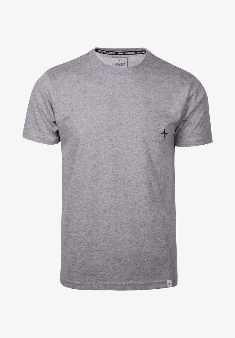 Spitzbub - HUBERT - Basic T-shirt - grey