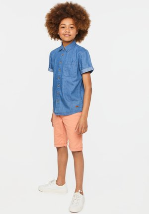 WE FASHION JUNGEN-JEANSHEMD MIT MUSTER - Overhemd - blue