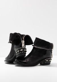 A.S.98 - Cowboy/biker ankle boot - nero - 7