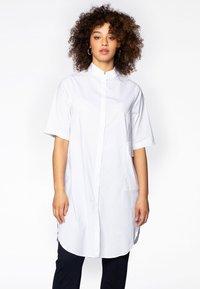 Yoek - Button-down blouse - white - 0