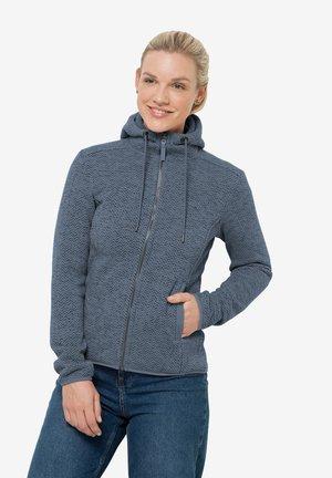 Fleece jacket - frost blue