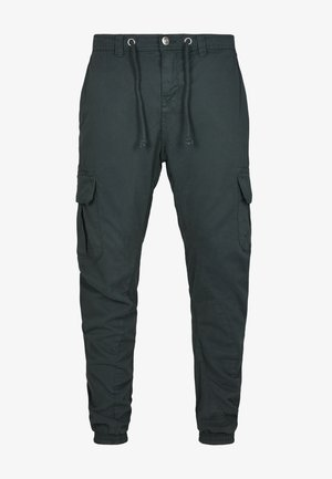Pantalones cargo - bottlegreen