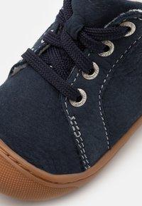Lurchi - INORI UNISEX - Baby shoes - navy - 5