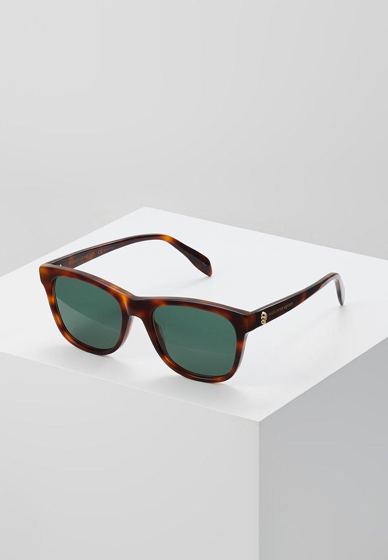 Alexander McQueen - Lunettes de soleil - havana brown
