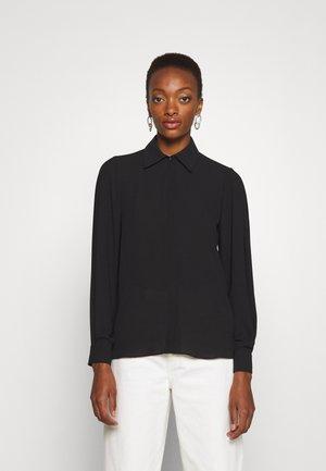 CAMICIA - Button-down blouse - nero