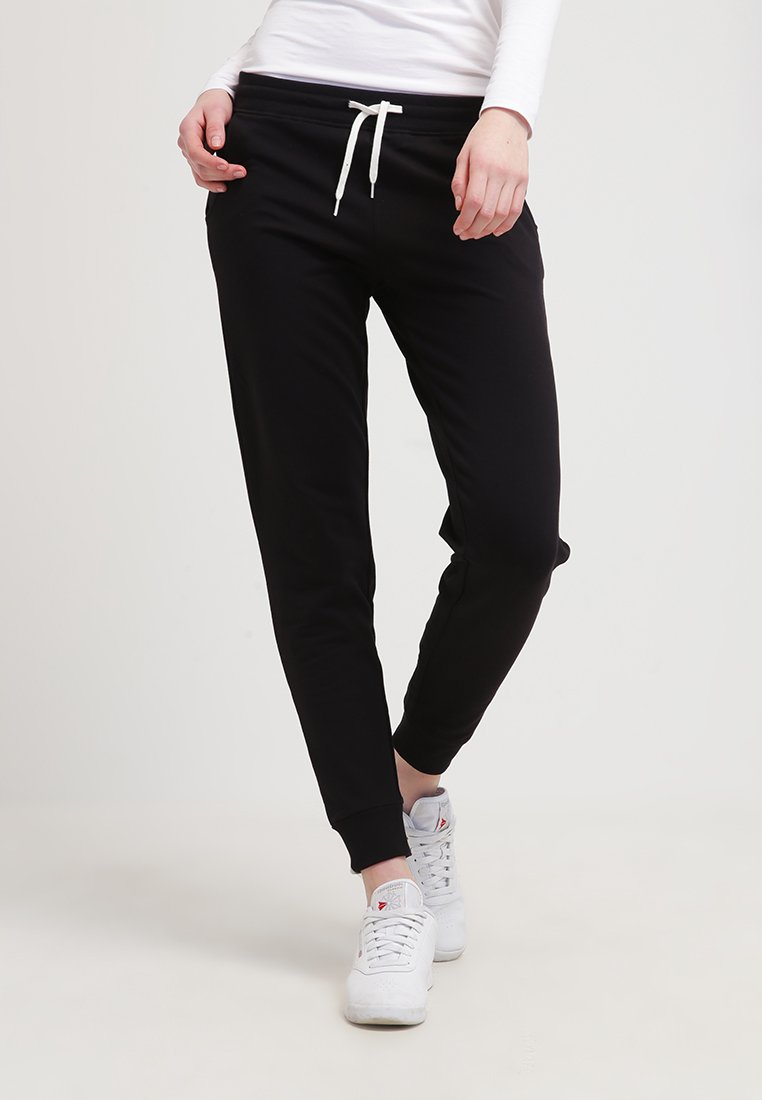 Zalando Essentials - Tracksuit bottoms - black
