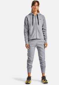 Under Armour - RIVAL - Zip-up hoodie - steel medium heather - 1