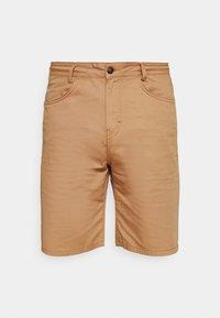 BORDER - Shorts - camel