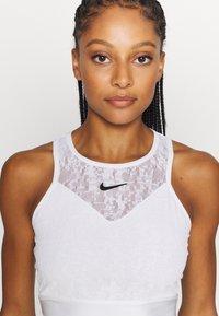 Nike Performance - MARIA DRESS - Sportovní šaty - white/black - 5