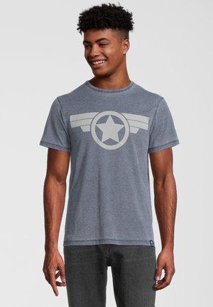 MARVEL CAPTAIN AMERICA ICON - T-shirt print - blau
