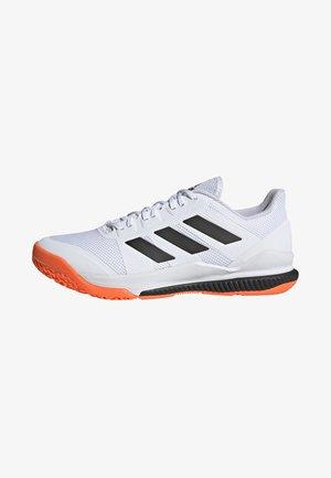 STABIL BOUNCE SHOES - Håndboldsko - white/black/orange