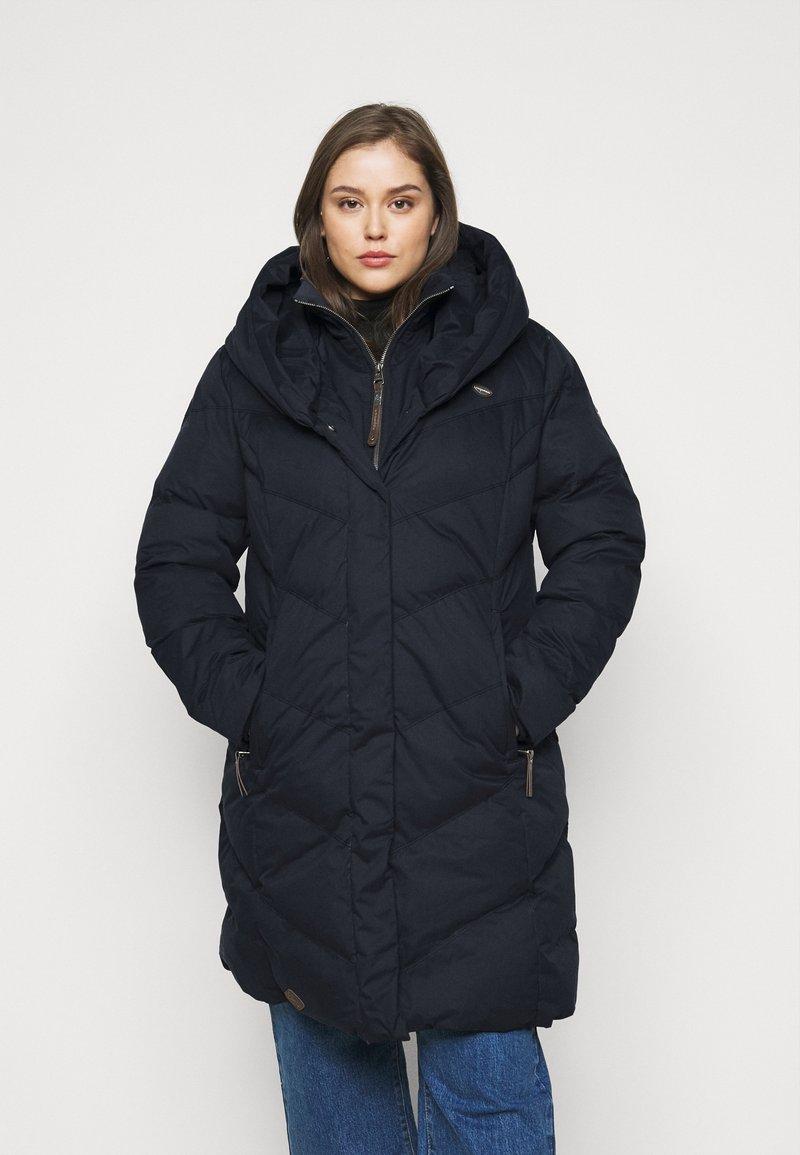 Ragwear Plus - NATALKA PLUS - Zimní kabát - navy