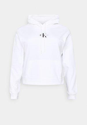 MONOGRAM HOODIE - Mikina - bright white