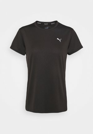 RUN FAVORITE TEE - T-shirt con stampa - black