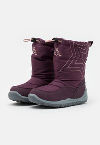 Kappa - CESSY TEX UNISEX - Winter boots - purple/rosé - 1