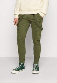 Alpha Industries - UTILITY PANT - Cargo trousers - dark olive - 0