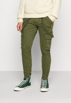 UTILITY PANT - Cargo trousers - dark olive