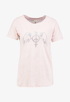 MAG TEE - Print T-shirt - chintz rose