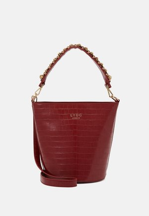 Handbag - dark red