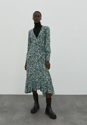 Maxi šaty - blau