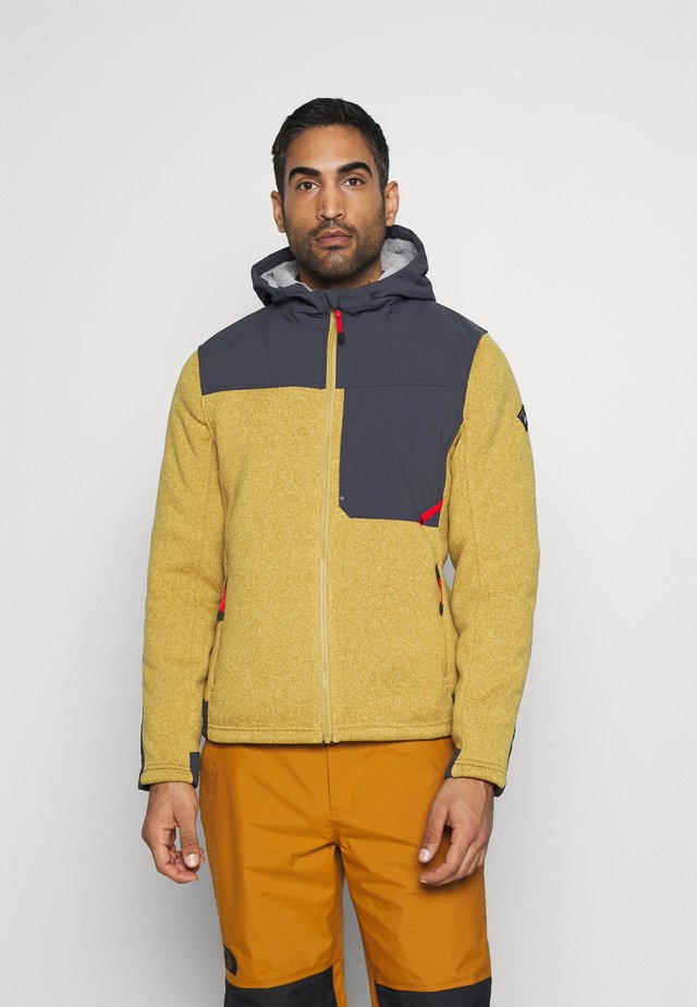 ALPS FULL ZIP HOODIE - Giacca in pile - dune