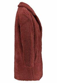 ONLY - ONLAURELIA SHERPA COAT  - Short coat - hellrot - 1