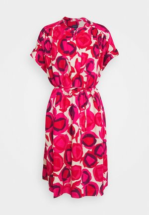 FLUID DESERT ROSE DRESS - Shirt dress - rich pink
