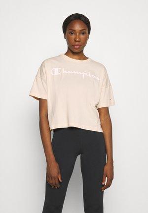 CREWNECK - Print T-shirt - beige