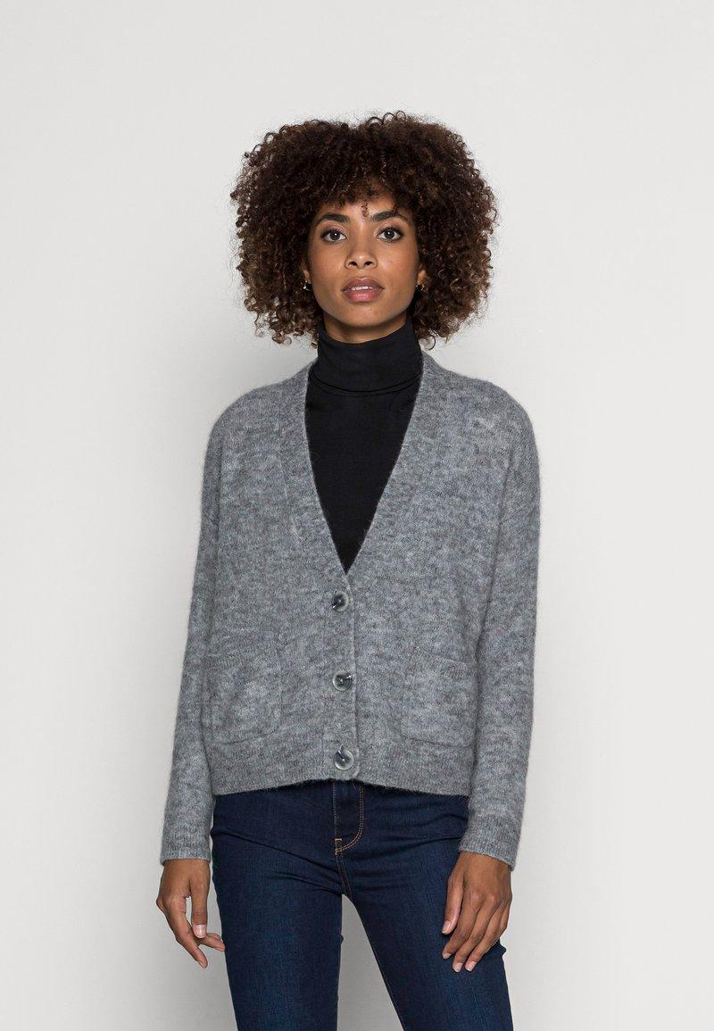 Opus - DOMANI SOFT  - Cardigan - easy grey