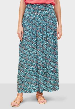 NARRY - Pleated skirt - blue