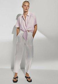 Massimo Dutti - Blouse - neon pink - 1