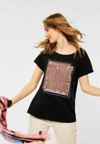 Street One - Print T-shirt - schwarz - 0
