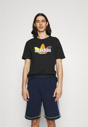 GRAPHIC - Print T-shirt - black/multicolor