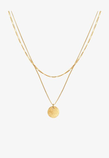 PLATE BASIC - Necklace - gold
