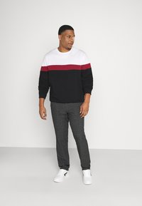 Pier One - Sweater - white/red/black - 1