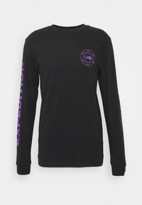 The North Face - DOUBLE SLEEVE GRAPHIC TEE - Long sleeved top - black - 0