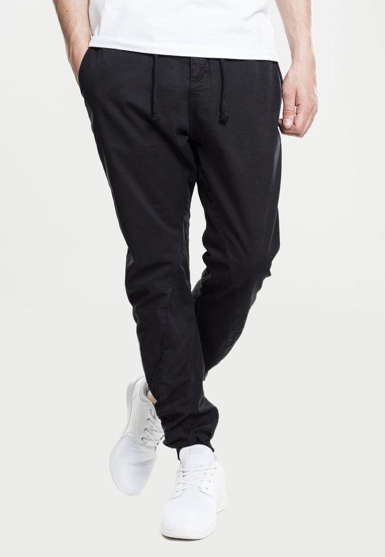 Urban Classics - JOGGING - Cargo trousers - black