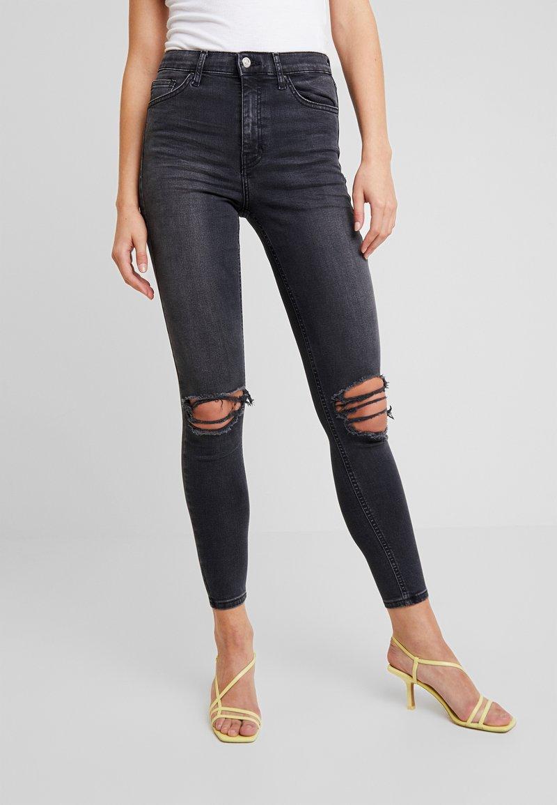 Topshop - AUSTIN JAMIE - Jeans Skinny Fit - black
