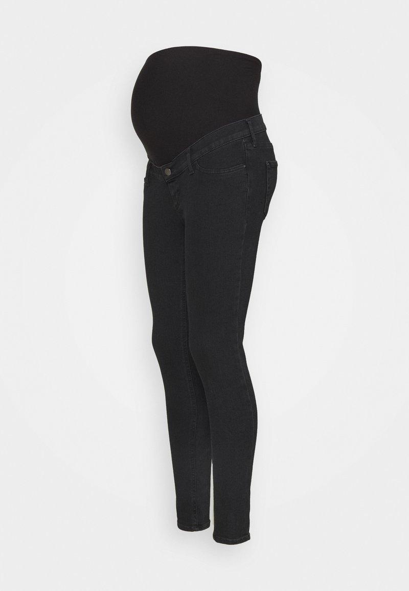 Anna Field MAMA - Jeans Skinny Fit - grey denim