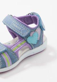 Friboo - Sandalias de senderismo - light blue - 2