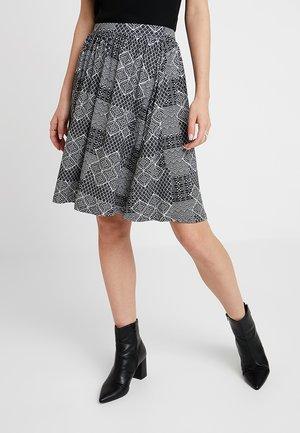 Minijupe - white/black