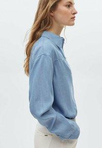 Massimo Dutti - Overhemdblouse - light blue - 1