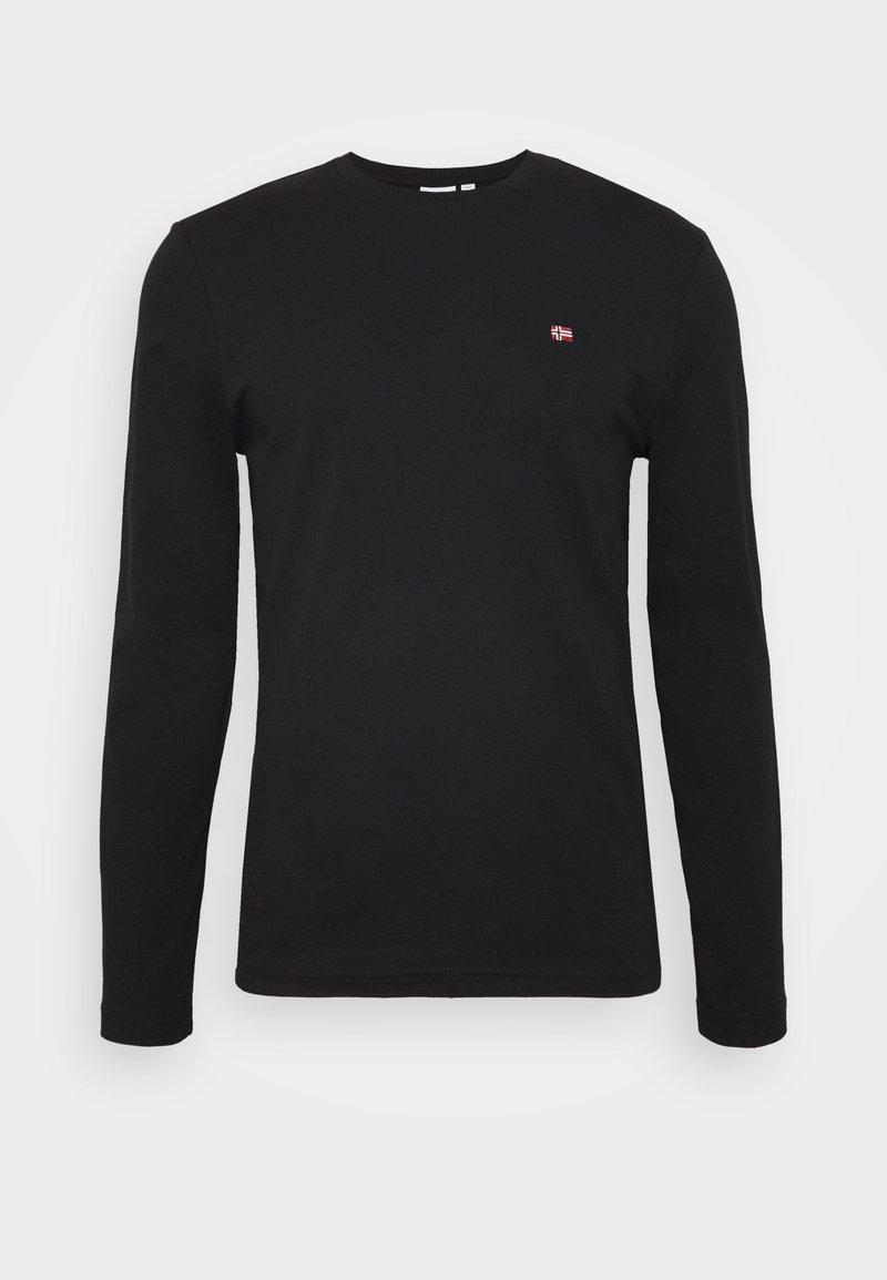 Napapijri SALIS - Langarmshirt - black/schwarz VDWyc2