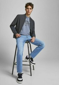 Jack & Jones - CLARK ORIGINAL - Jeans Straight Leg - blue denim - 4
