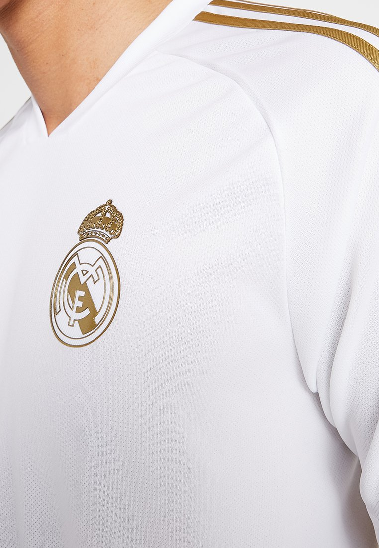 Adidas Performance Real Madrid Tr Jsy - Artykuły Klubowe White